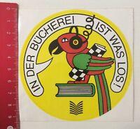 Aufkleber/Sticker: In Der Bücherei Ist Was Los (180416194)
