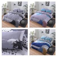 Paint Marks Reversible Duvet Cover Quilt Bedding Set with Pillowcases All Size
