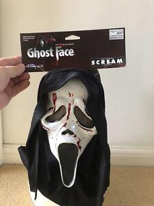Horror Halloween Official Scream Mask With Custom Paint Job Fun World