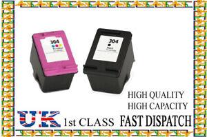 2 Remanufactured hp304 BK&C  High Quality Inkjet Cartridges hp nonoriginal