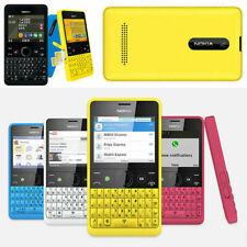 Nokia Asha 210 Original Unlocked GSM 2.4`Dual SIM 2MP QWERTY Keyboard Cellphone