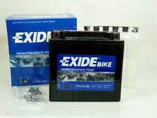 EXIDE Bike Motorrad Batterie  12V 12Ah  YTX14L-BS  AGM Dry Technology
