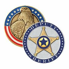 Blackinton Deputy Sheriff Challenge Coin - Green