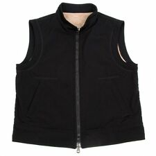 EMPORIO ARMANI Back fur zip-up vest Size 54(K-35971)