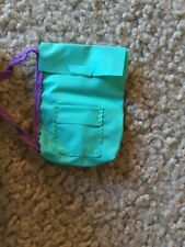 Doll Barbie Purse Backpack Style Turquoise Blue Green Purple Strap Tropical Ken