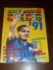 ALBUM IL GRANDE CALCIO 91 + ALBETTO E FIGURINE Ed. VALLARDI - BLISTERATO !!