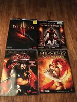Strategy Guide Lot Diablo 3, Conan, Heavenly Sword, Ninja Gaiden Sigma
