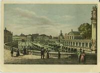 Alte Ansichtskarte Postkarte Alt-Dresden Zwinger farbig
