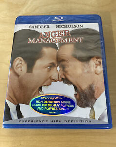 ANGER MANAGEMENT - NEW SEALED - BLU-RAY - FREE SHIPPING IN BOX!