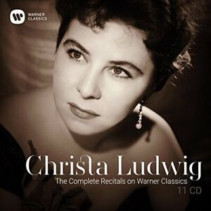Christa Ludwig-The Complete Recitals on Warne CD NEUF