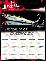 Artificiale spinning Molix Jugulo Casting Jig 10 gr. (3/8oz) mare jigging