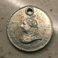 1897 Great Britain Queen Victoria Medal Protestant Board of School Commissioners