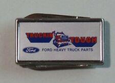 Barlow B60 Truckin' Tough FORD Heavy Truck Parts Money Clip Pocket Knife 9206