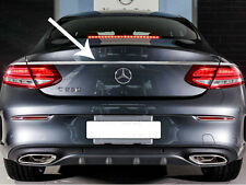 Mercedes C205 C Class Coupe Chrome Boot Trunk Lid Trim Set