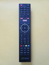 New Seiki Smart TV remote Netflix YouTube Google