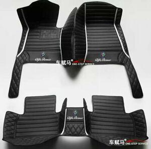 Fit For Alfa Romeo Giulia Stelvio 2000-2021  Customized  Car Floor Mats