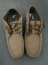 Men's new brown casual suede shoes size 10 by Timberland