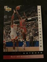 MICHAEL JORDAN 1992-93 Upper Deck Jerry West Selects SP Insert Chicago Bulls