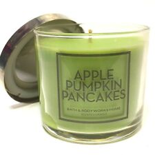 LOT 1 BATH & BODY WORKS HOME APPLE PUMPKIN PANCAKES 4 OZ SCENTED CANDLE NEW
