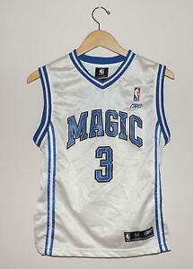 Kids Reebok Orlando Magic Francis Number 3 Basketball Jersey Size Medium