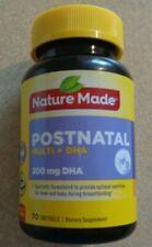 Nature Made Postnatal Multi 200 Mg DHA - 70 Softgeals - Exp 12/2021