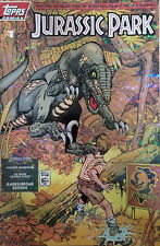 Topps Comics Jurassic Park #1 Aberchrome Limited Edition (7257 of 7500)-RARE