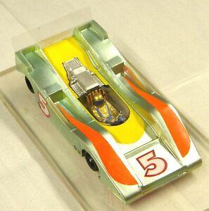 Slot Car 1/24 Retro Can Am. Custom Wire & Brass Chassis - JK Retro Hawk Motor.