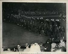 1936 Press Photo National Horse Show Gen John J Pershing saluted - nes38342