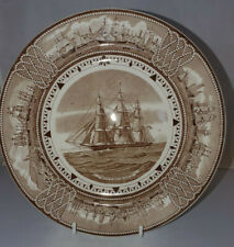 WEDGWOOD AMERICAN CLIPPER SHIP PLATE 'WITCHCRAFT' 23 cms