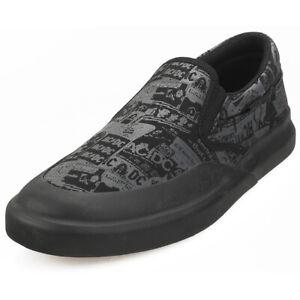 DC Shoes Infinite Slp Ac/dc Mens Black Textile Slip On Shoes