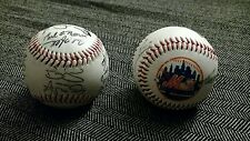 New York Mets Signed Baseball 25 Autographs 1996 1997 game day 1990s 90s Team