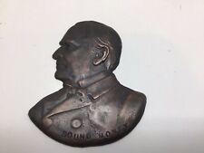 President William McKinley 1896 Election Sound Money Bronze Profile Bust