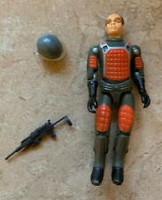 1982 GI Joe GRAND SLAM Straight Arm V1 Complete! Tight Screws! Very Nice! VISOR!