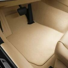 Genuine BMW Carpeted Floor Mats - Beige 51-47-7-426-315