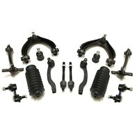 14 Pc Front & Rear Suspension Kit for Honda Civic 96-00 Si Upper Control Arms
