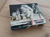 RARE HANDMADE AIRFIX  PROTOTYPE BLUE BOXE ASTRONAUTS MEXICAN  1/72 WINDOW BACK