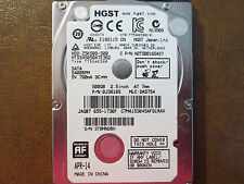 Hitachi HTS545050A7E362 PN:0J38105 MLC:DA5754 Apple#655-1730F 500gb Sata HDD