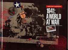 1991 A WORLD AT WAR, WWII 1941 , BOOK with MNH ISSUES