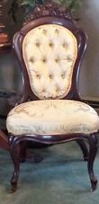 John Henry Belter Rosewood Antique Victorian Chair, Rosalie