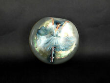 """Russian Lacquer Mother of Pearl Box """"Ballet""""  - Fedoskino hand painted Box"""