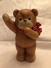 Lucy & Me Waving Bear Bank; Free Priority Shipping!