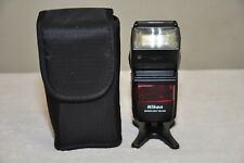 Nikon Speedlight SB-600 Shoe Mount Flash for Nikon DSLR Cameras - Excellent!!
