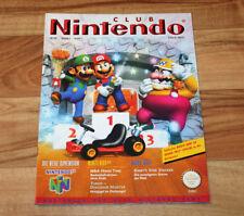 1997 Club Nintendo Magazine Kirby's Star Stacker Wave Race 64 Lufia Turok Mario