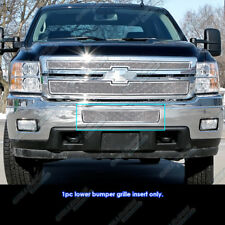 2011-2014 Chevy Silverado 2500HD/3500HD Stainless Steel Bumper Mesh Grille Grill