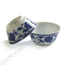 30ml Lots of Chinese JingDe Porcelain Five Blessings GongFu Teacup Tea cups