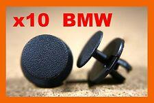 10 BMW serie Capó Capó Tronco Panel aislante Clips Sujetador forro de arranque