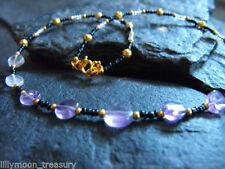 Gemstone Oval Amethyst Beauty Costume Necklaces & Pendants