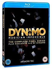 Dynamo Magician Impossible Complete Series 4 + A-Z Of Blu Ray Brand New Final Uk