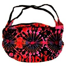 JK14 BAG SHOULDER TIE DYE BOHO SLING UNISEX BACKPACK HOBO LARGE TEENAGE CAMPING