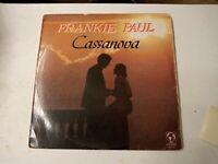 Frankie Paul – Cassanova - Vinyl LP 1988